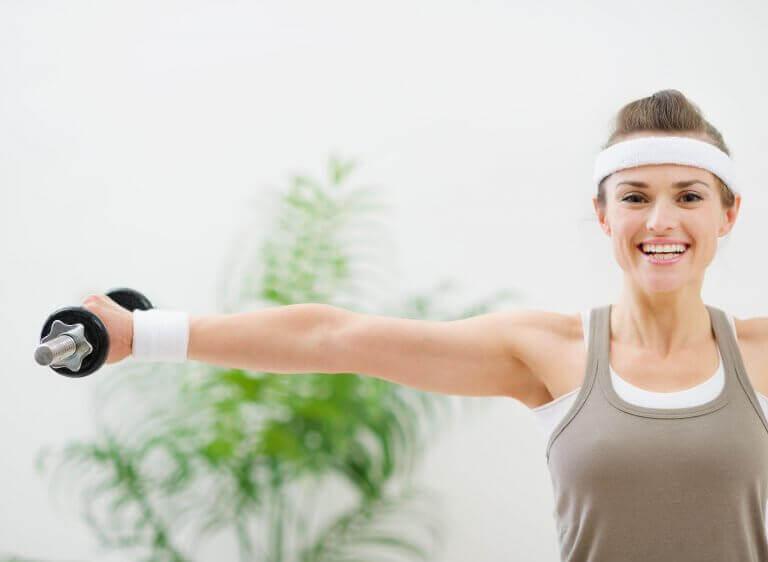 Oefeningen voor stevige borsten