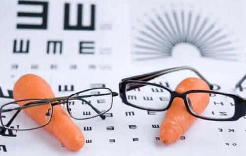 Wortels en leesbrillen