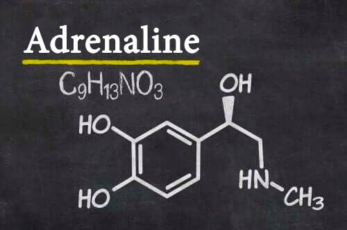 Adrenaline structuurformule