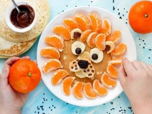 Dieetmenu's voor kinderen met obesitas