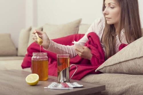 Drie remedies met honing om de griep te verlichten