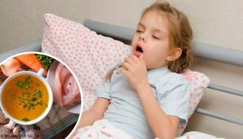 Hoe kun je droge hoest bij kinderen verlichten?