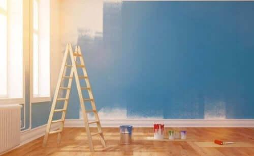 technieken voor het schilderen van je huis