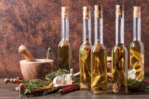 Plantaardige oliën die gunstig voor de gezondheid zijn