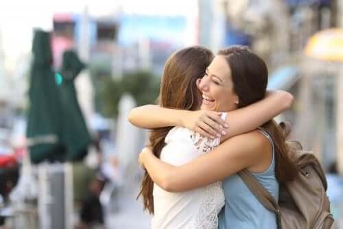Een echte vriend is belangrijk