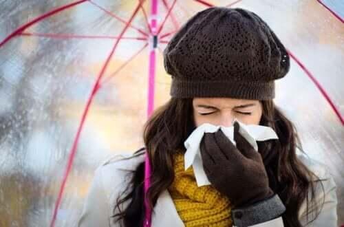 Hoe een verkoudheid in de winter te voorkomen