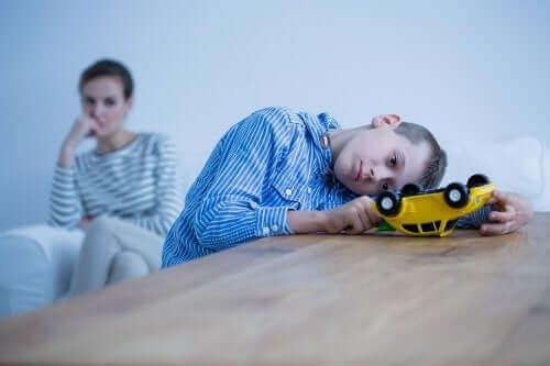 Symptomen van psychische stoornissen bij kinderen