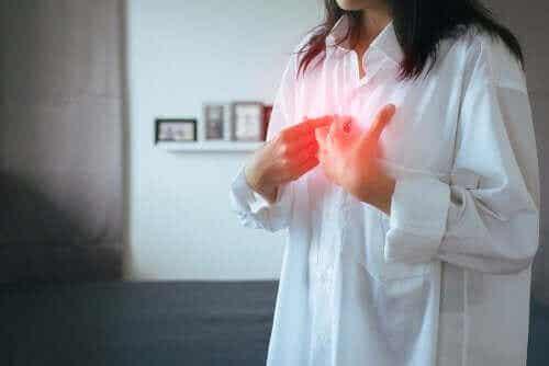 Symptomen van gastro-oesofageale refluxziekte