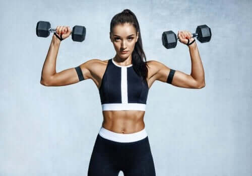 versterken van de spieren