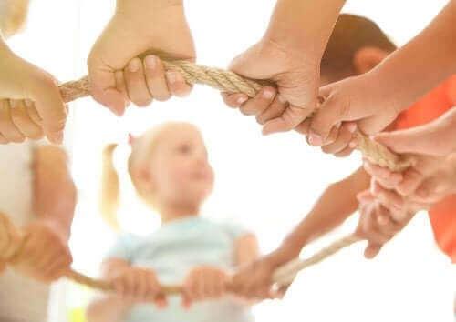 Aanmoedigen van samenwerkend spelen bij kinderen