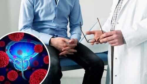 Man met prostaat problemen bij de dokter