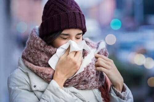 De reden waarom we verkouden worden