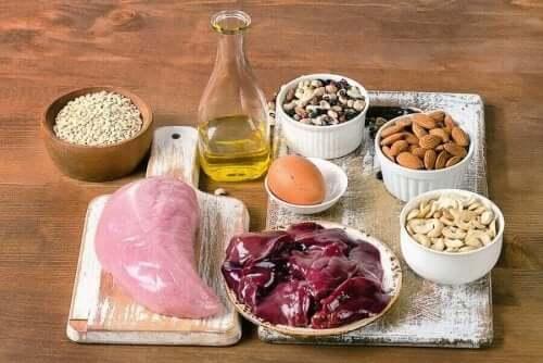 Een scala aan voedsel rijk aan selenium