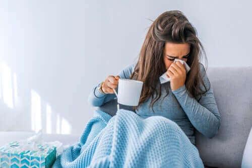 Hoe griep het lichaam beïnvloedt