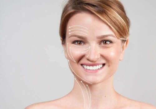 Verjongde huid na een behandeling