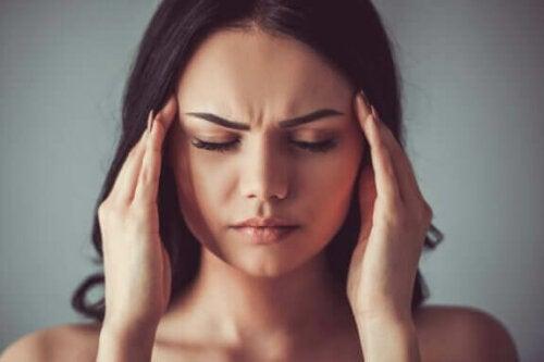 Vier soorten hoofdpijn en hun behandeling