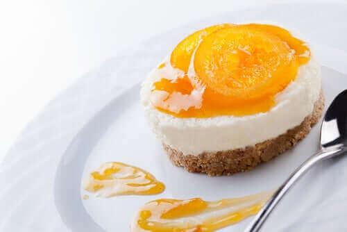 no-bake piña colada cheesecake