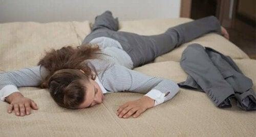 Constante vermoeidheid kan wijzen op een verzwakt immuunsysteem