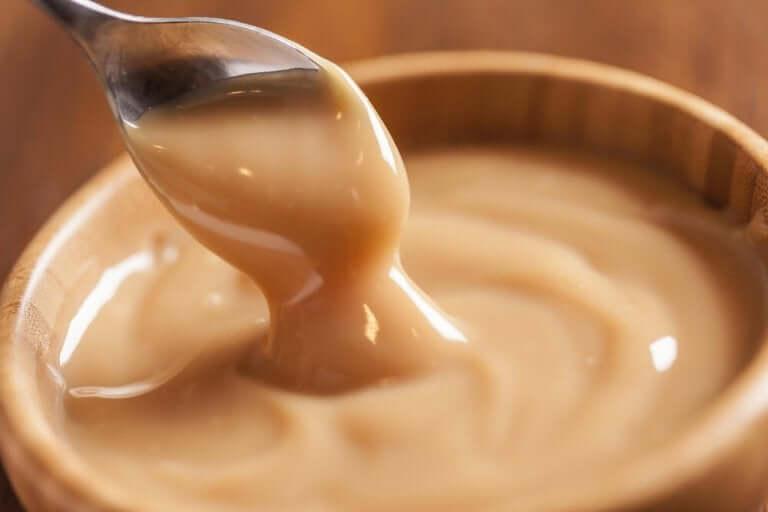 Bakje met dulce de leche