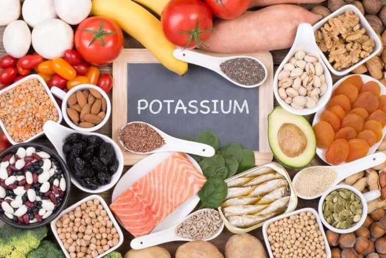Voedingsmiddelen met kalium