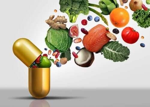 De bronnen van vitamines