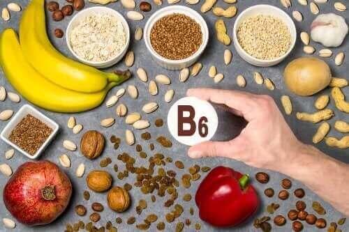 Vitamine B6 en de voedingsmiddelen waar het in zit