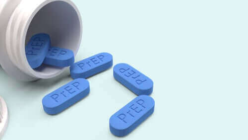 Omgevallen potje medicijnen