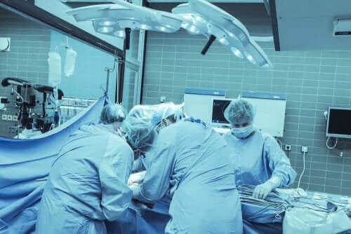 Een operatiekamer