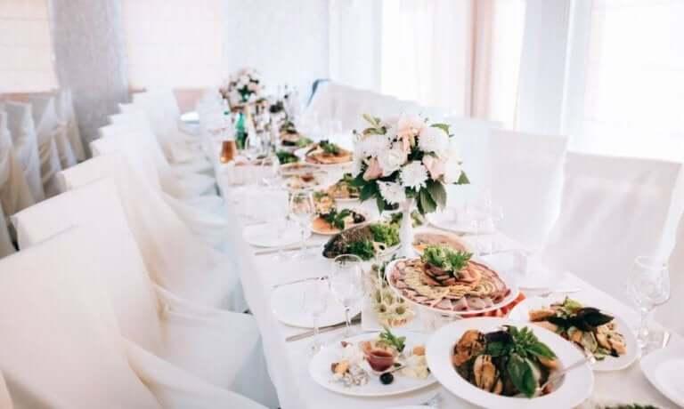 Bruiloft menu opties