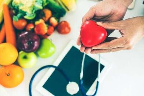 Mineralen in voedingsmiddelen voor de gezondheid van het hart