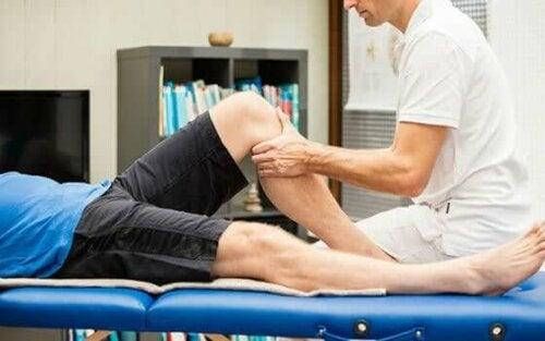 massage van de knie