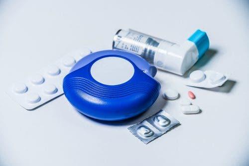 Verschillende medicatie voor de behandeling van astma