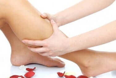 Beenkramp weg masseren