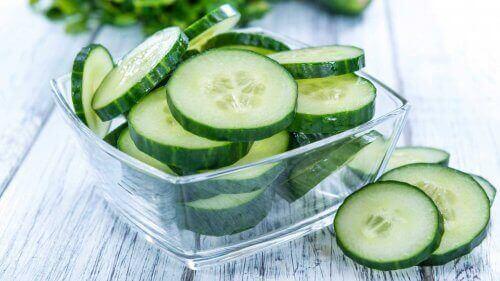 Komkommer is een natuurlijk diureticum