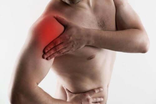 Een cuffruptuur veroorzaakt pijn