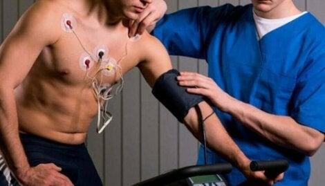 Lichaamsbeweging is onderdeel van het revalidatieprogramma
