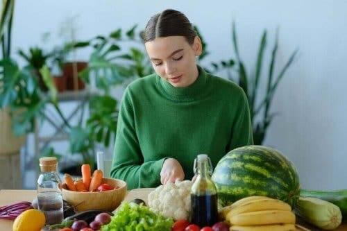 Verse groenten zijn belangrijk in elk dieet