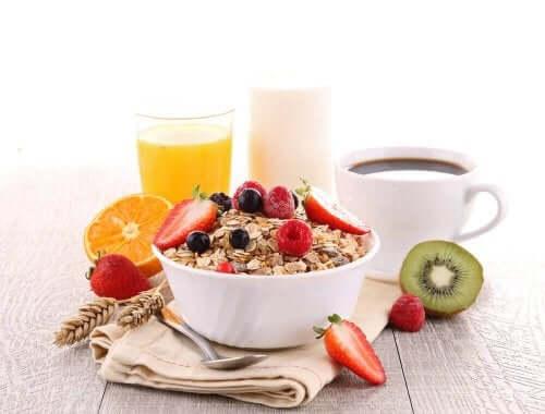 Een voedzaam ontbijt