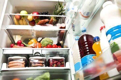 Een volle koelkast