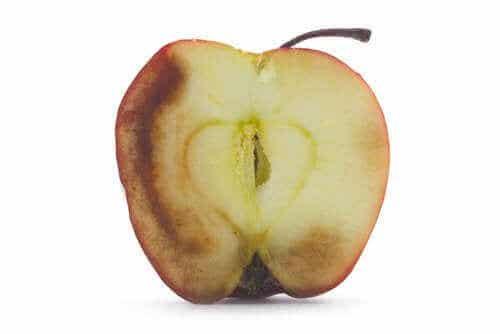 De gevolgen van het eten van geoxideerd fruit