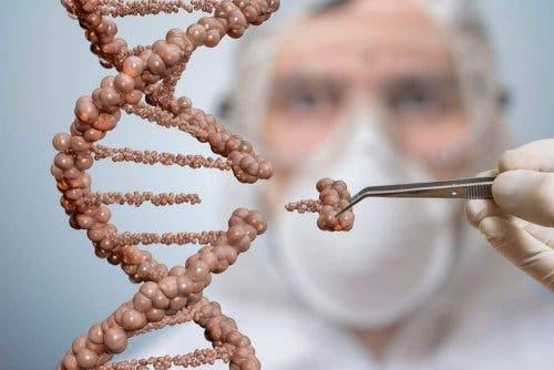 Een arts en DNA