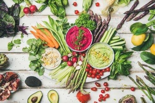 Voedingsmiddelen die veganisten eten