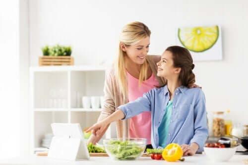 De veganistische tiener: een groeiende trend