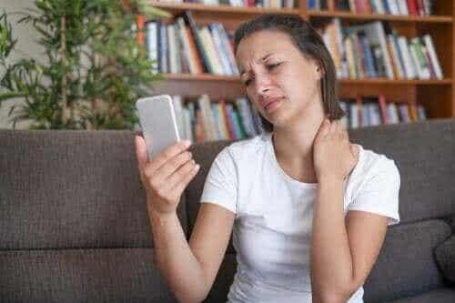 De preventie van een smartphone-nek