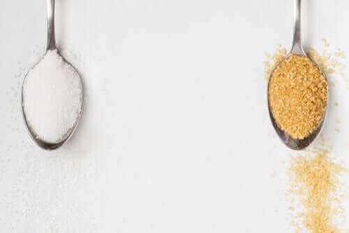 Is bruine suiker beter dan witte suiker?