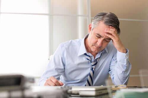 Stress veroorzaakt grijs haar