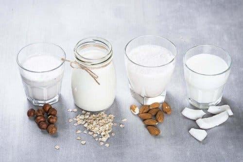 Varianten op koemelk