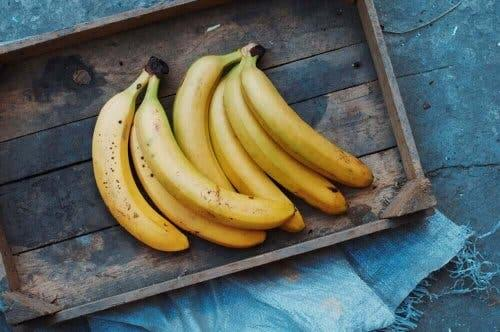 Vitamine B6 in bananen