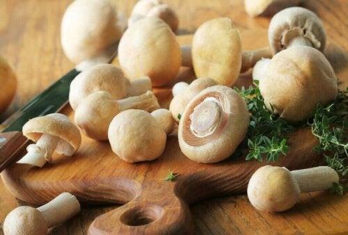 Drie caloriearme recepten met champignons
