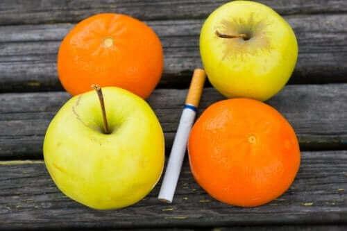 Een dieet om te stoppen met roken